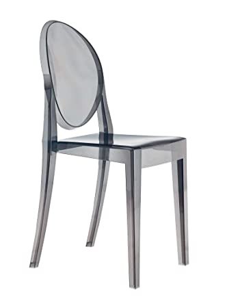Kartell Victoria Ghost Chairs, Grey, 50x39x91 cm,04857P9: Amazon.co ...