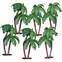 Asian Hobby Crafts Artificial Mini Tree for 3-D Models, Project Making, Hobby Crafts, Bird Houses, Toys (6 Pieces, 4-inch)