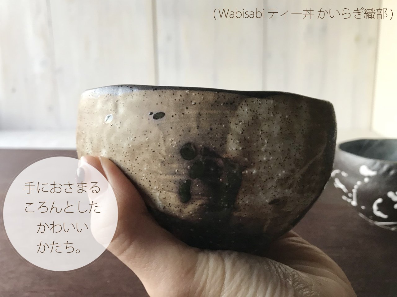 Matcha Bowl Made in Japan(Minoyaki Porcerin Wabisabi) 500ml (Wabisabi Gold)