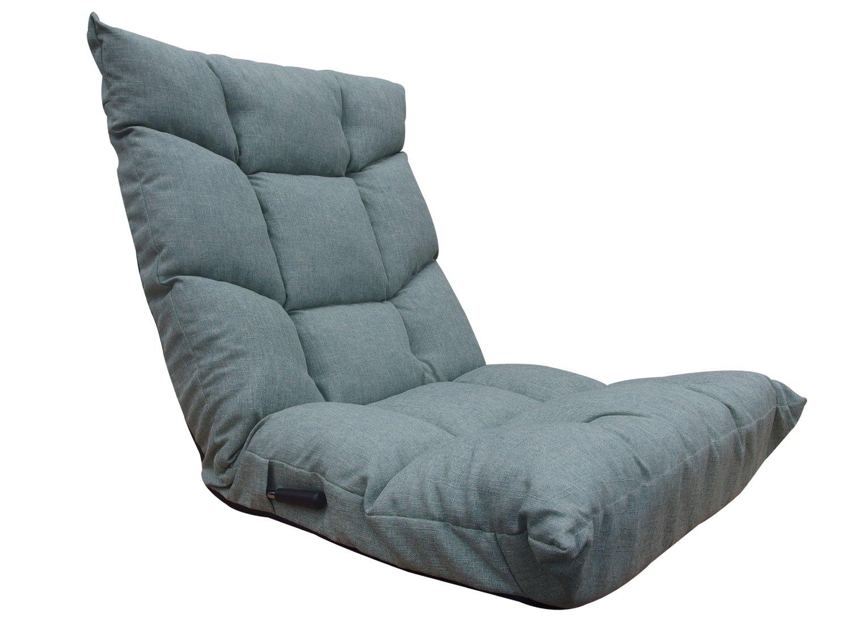 ネクスト(Next) 座椅子 ブラン 低反発ウレタン レバー式 14段階 リクライニング グリーン B06XY76G9N グリーン グリーン