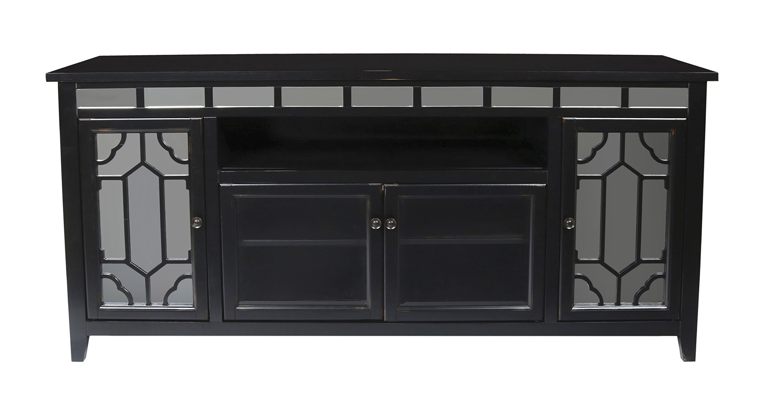 New Classic Gable 72'' Black End Unit by New Classic Furniture