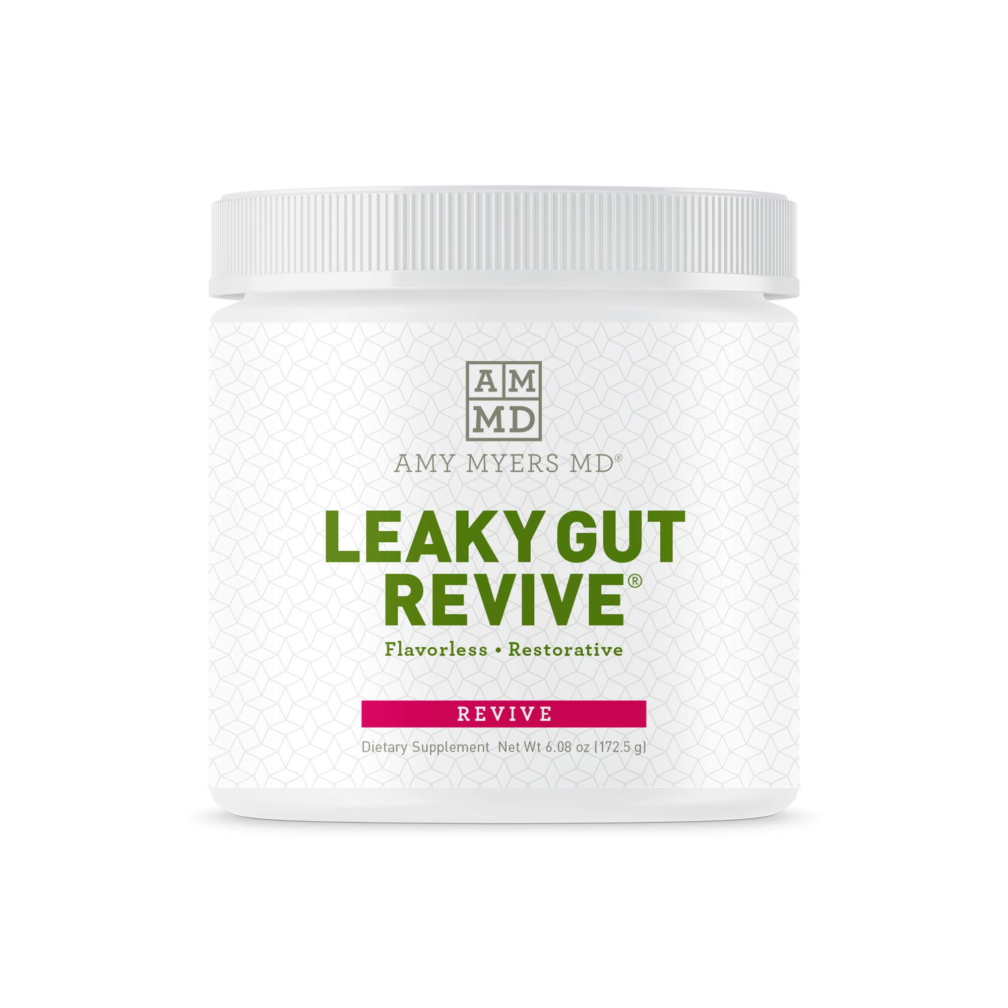 Dr. Amy Myers Leaky Gut Revive® Powder for Leaky Gut Repair- Reduce Symptoms Like Constipation, IBS, Diarrhea, Bloating, and Irregularity - Perfect Supplement to Naturally Maintain Healthy Gut Lining by Amy Myers, MD