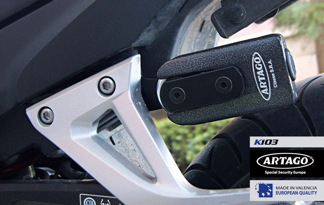 Artago 69T/B / 69X Disc Lock - Support Bracket for Sport Bikes - lock carrier
