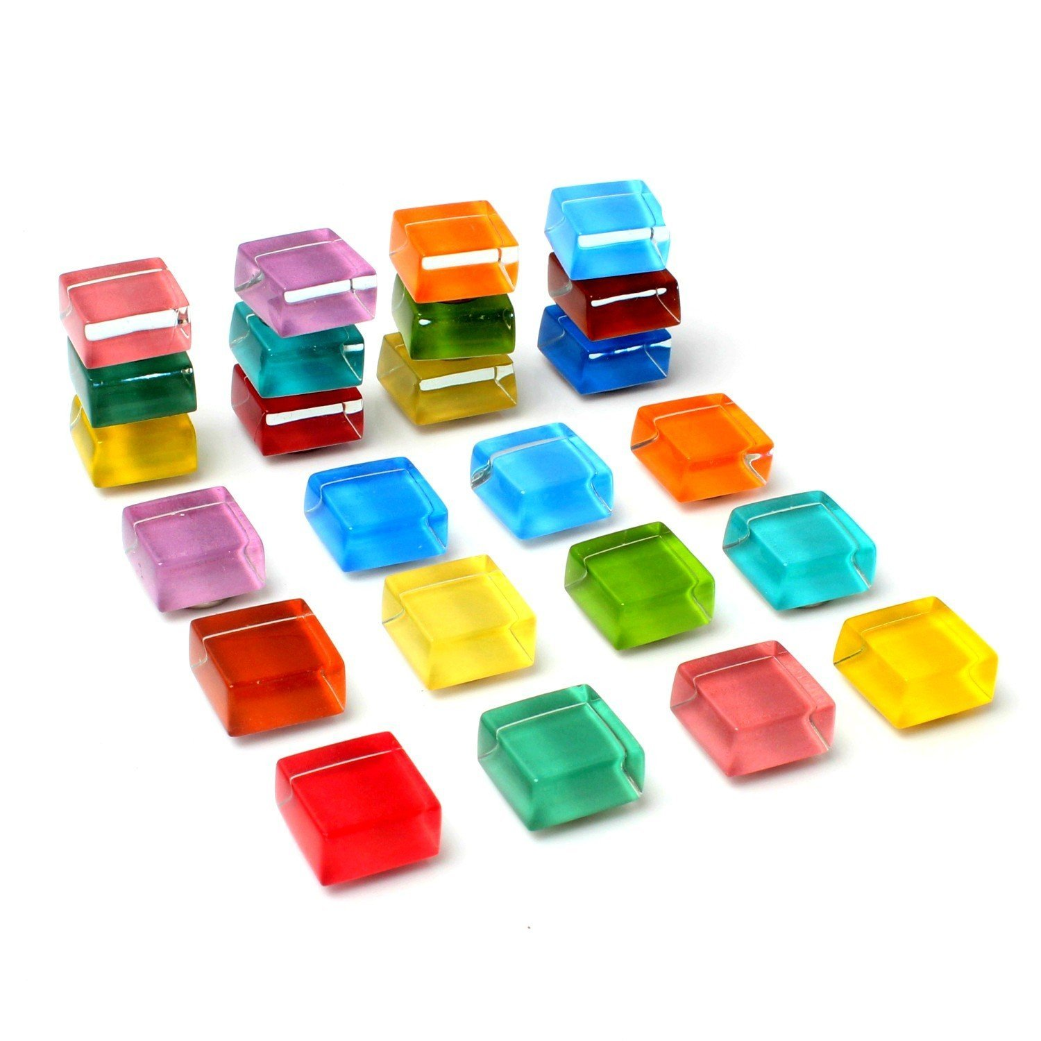 Fridge Magnets Strong Office Magnets Cute Refrigerator Magnets Kitchen Colorful Magnets Decorative Magnets for Refrigerator Magnets for Whiteboard Magnets for Dry Erase Board - Glass