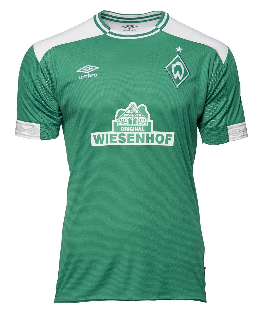 Umbro Kinder Werder Bremen Home Ss Jersey