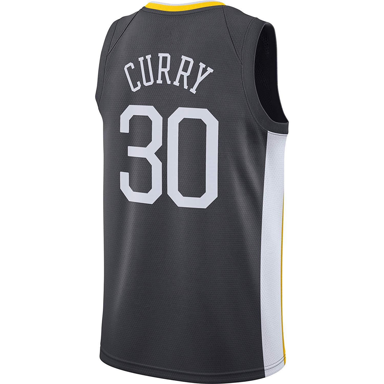 Basketball-Trikot Krieger PROSPECT Stephen Curry 30 Stoff Bestickt M/änner Trikot Jersey