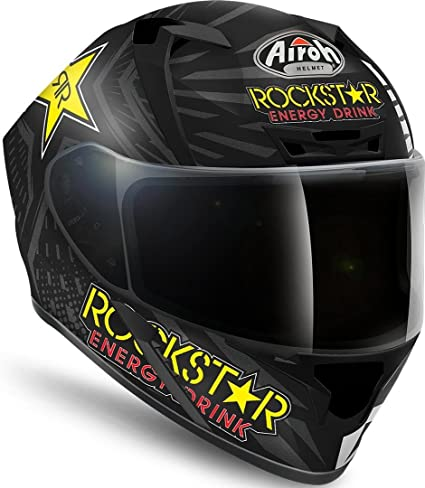 Casco Airoh Valor Rockstar Matt S: Amazon.es: Coche y moto