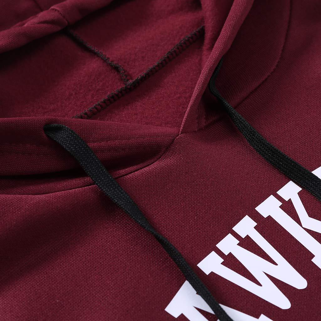 goneryisour Fashion Autumn Winter Women Men Warm Sweatshirt Hoodies Stranger Show Middle School AV Club Hoodie Sweater