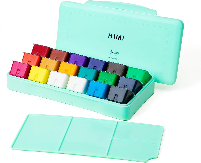 HIMI Gouache  set de 18 colores 30cm (caja verde)
