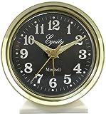 Equity by La Crosse 12020 Analog Key-Wound Bell Alarm Clock