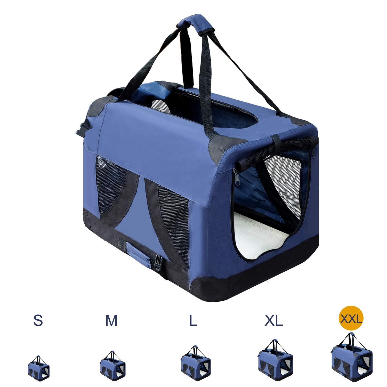 Zedelmaier Chien Box Boîte de Transport Pliable pour Chien Cage avec différentes Tailles