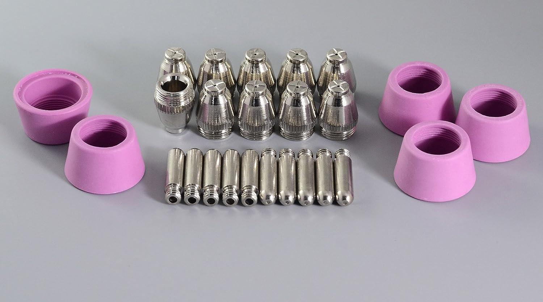 SG-55 AG-60 Consommables de Torche dé coupeur Plasma é lectrode pour plasma 1, 2mm 60Amp 25pcs RIVERWELDstore