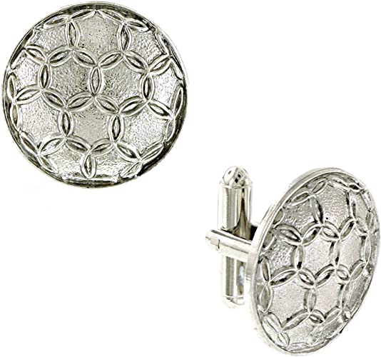1928 Jewelry Boxed Diamond Shaped Cuff Links