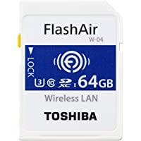 توشيبا بطاقة ذاكرة متوافقة مع كاميرات - بطاقات رقمية آمنة ذات سعة عالية - 64 جيجابايت THN-NW04W0640E6