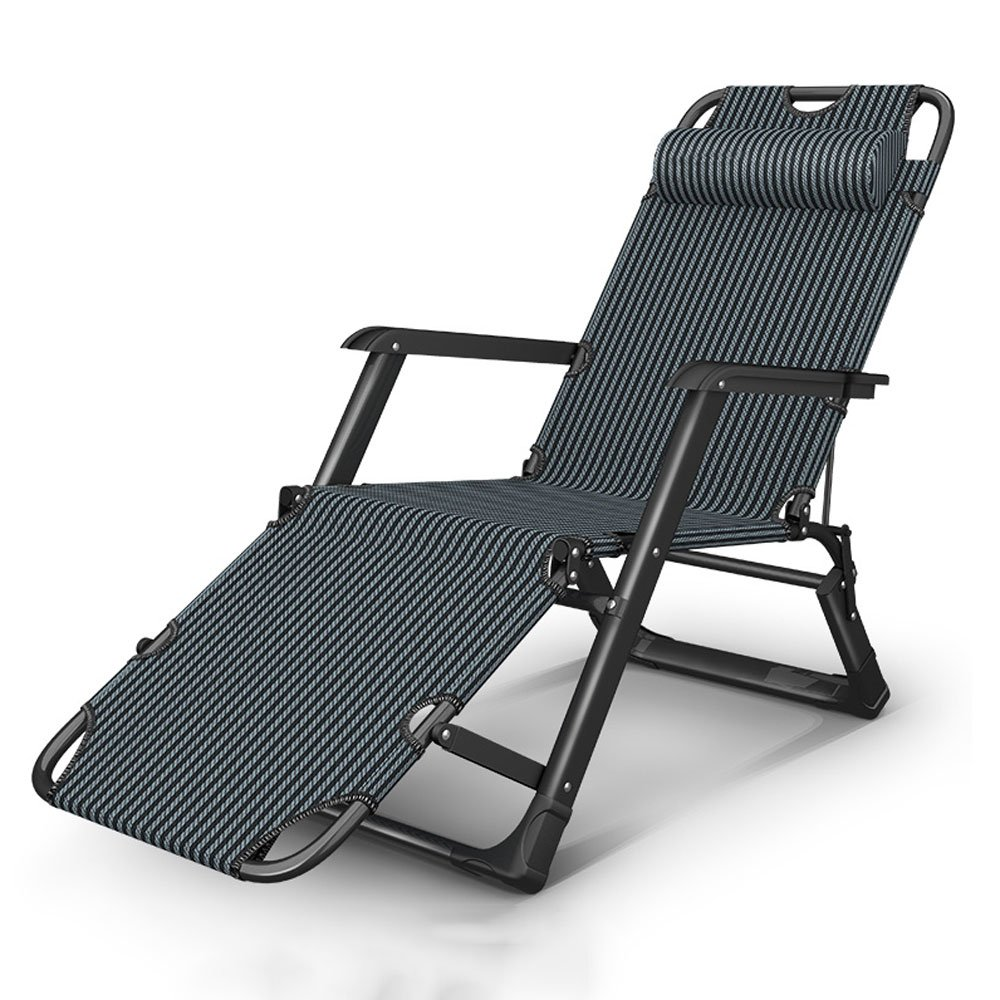 Jiaqi Klappstuhl, Einstellbare Schwerkraft Stühle, Garten Patio Beach, Rostfrei