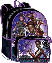 Black Panther Nakia Backpack Lunchkit - Queen 16