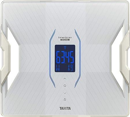 タニタ 体組成計 スマホ対応 自動認識 医療分野の技術で精密測定 インナースキャンデュアル 50g単位 日本製 RD-913 WH ホワイト