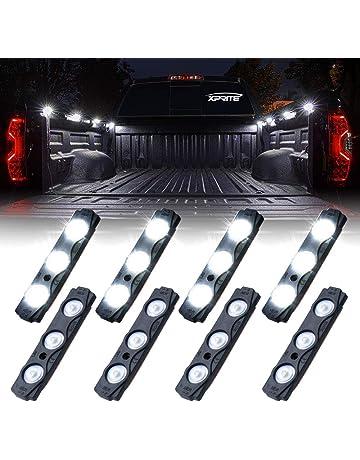 Krator White License Plate Tag Light 5 LED Fender Lite For Honda CX FT GB 360 500 650