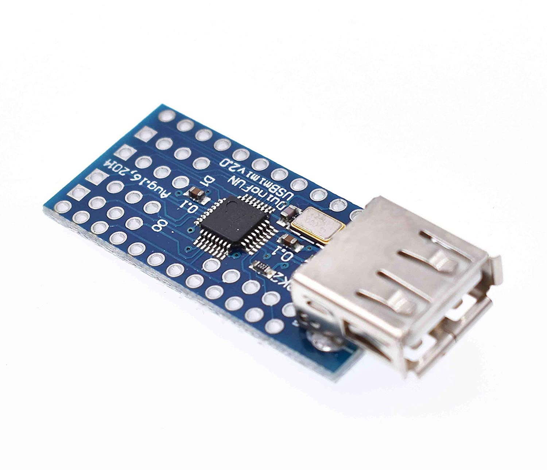 Mini USB Host Shield 2.0 ADK SLR Development Tool Compatible SPI Interface