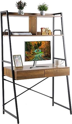 Grepatio Ladder Desk - a good cheap modern office desk