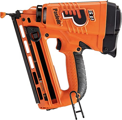 Paslode – 902400 16 Gauge Angled Cordless Finish Nailer – Battery and Fuel Cell Powered – No Compressor Needed