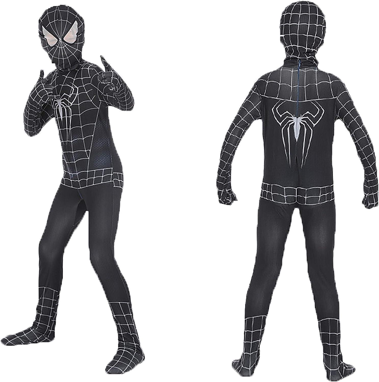Amazon.com: Disfraz de Spiderman de Venom para niños, de ...