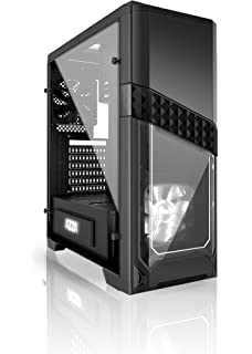 Azza Titan 240 Mid-Tower Computer Gaming Case, Black (CSAZ-240 Titan