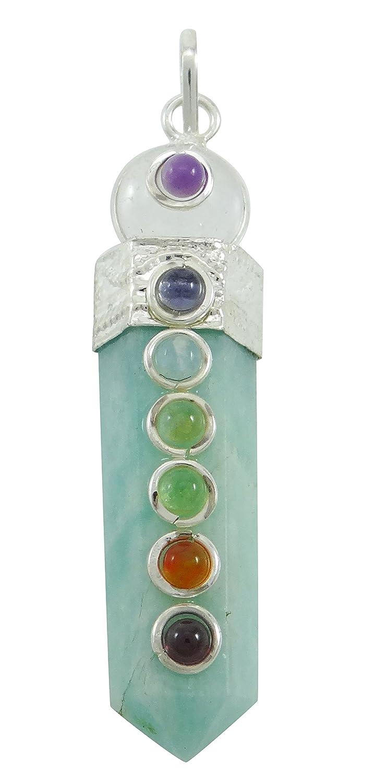 Harmonize Tiger Eye Stone Pencil Pendant Balancing Wand 7 Chakra Balancing Therapy Reiki Healing Crystals CDJ249A-1