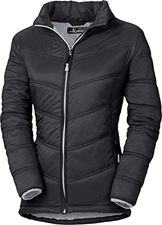 Damen steppjacke in schwarz