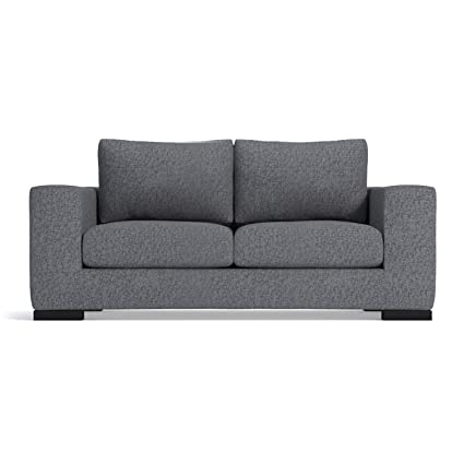 Amazon.com: Hillandale Apartment Size Sofa, Smoke, 78