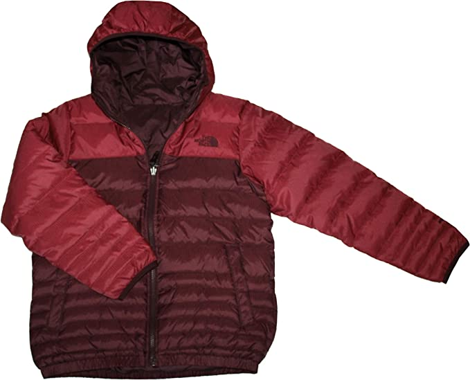 NEW NORTH FACE BOY/'S REVERSIBLE DOWN JACKET Large Grey $149