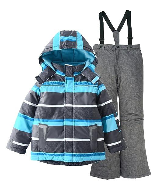 Amazon.com: M2C - Chaqueta de esquí y pantalón de esquí con ...