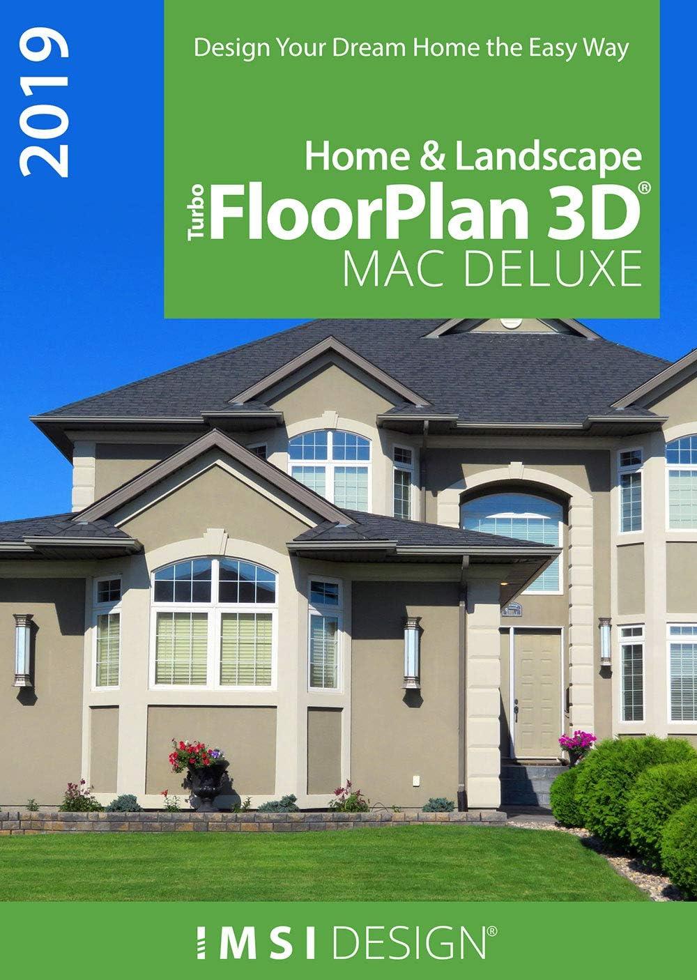 TurboFloorPlan Home & Landscape 2019 Deluxe [Mac Download]