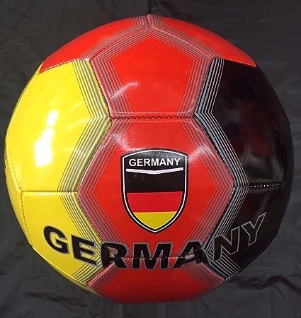 Amazon.com : Campeon Germany Flag Soccer Ball Football Size-5 ...