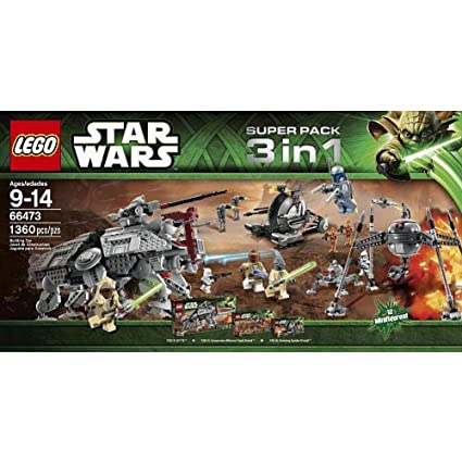 LEGO Star Wars Super Pack 3 in 1 Combo (66473)
