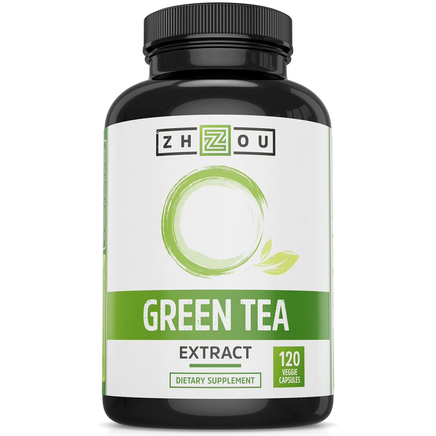 Green Tea Extract Supplement with EGCG for Weight Loss - Metabolism, Energy and Healthy Heart Formula - Gentle Caffeine Source - Antioxidant & Free Radical Scavenger - 120 Capsules