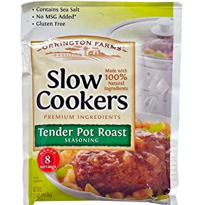 Orrington Farms Slow Cookers Pot Roast Seasoning, 2.5 Ounce (Pack of 12)