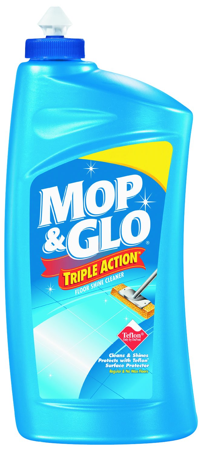 Mop and Glo One Step Fresh Citrus Multi Surface Floor Cleaner, 32 Fluid Ounce - 6 per case.