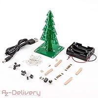 AZDelivery ⭐⭐⭐⭐⭐ DIY Weihnachtsbaum Kit
