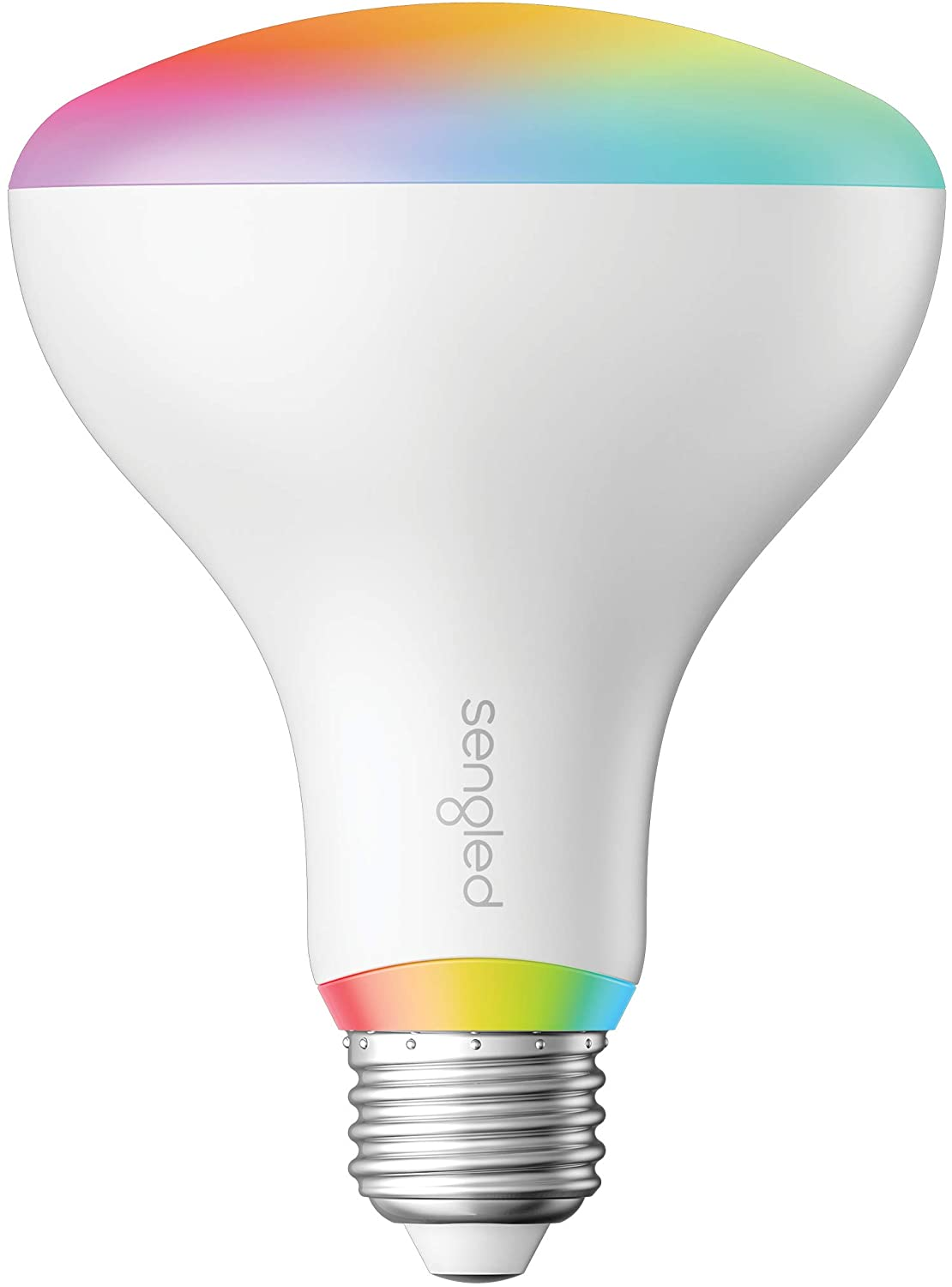 Sengled Smart Light Bulbs, Color Changing Light Bulb that Works with Alexa, Google Home, RGB Light Bulb, Alexa Light Bulbs BR30 E26 Multicolor Bulb, Hub Required, 75W Equivalent, 940LM, 1 Pack