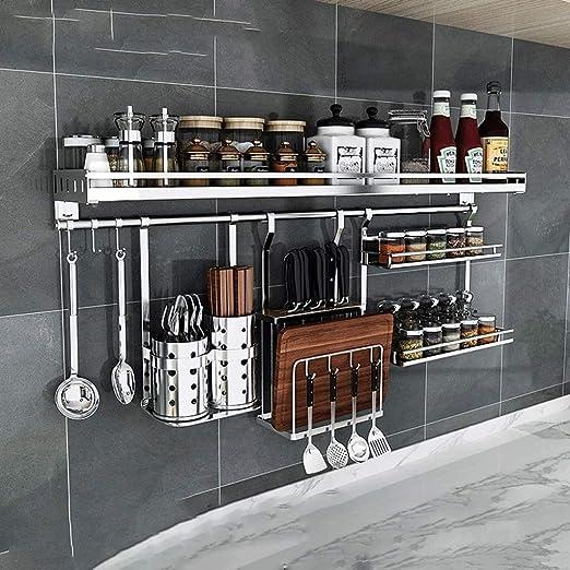 Estante de cocina Estantes de cocina Montado en la pared ...