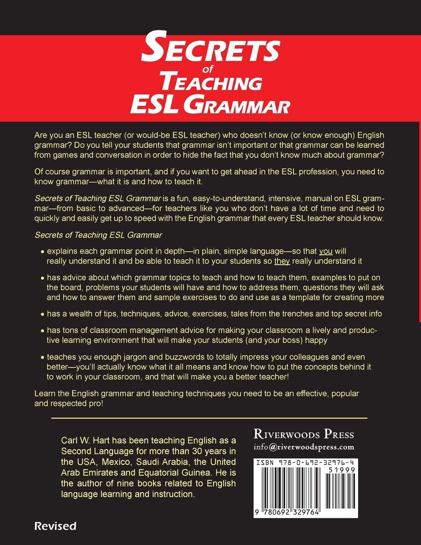 Secrets of Teaching ESL Grammar: A Fun, Easy-to-Understand
