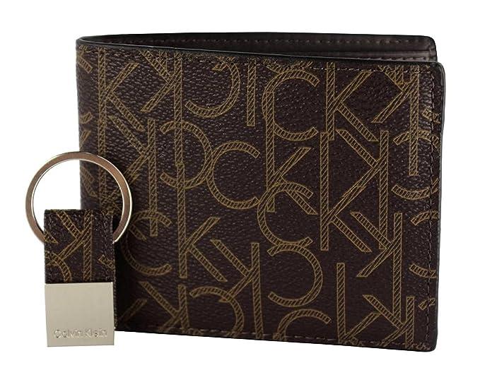 Amazon.com: Calvin Klein 79544 - Juego de cartera y llavero ...
