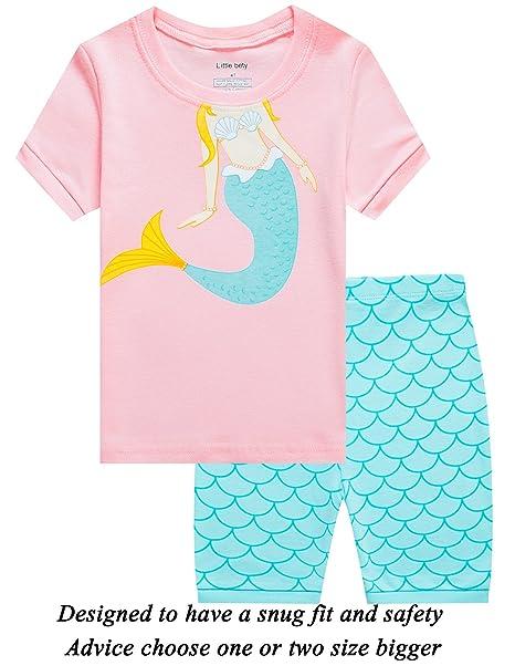 779128e58 Amazon.com  Little Girls Short Pajamas OWL Snug Fit Cotton Toddler ...