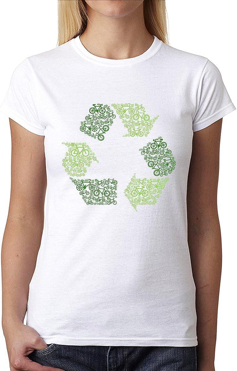 avocadoWEAR Reciclar Firmar Limpiar Tierra Mujer Camiseta XS ...