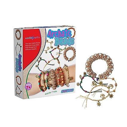 Amazon Com Sadocrafts Archaic Beads Diy Bracelet Fancy Easy To