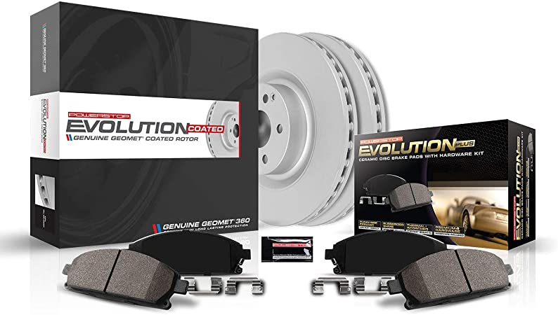 Power Stop CRK5774 front Z23 Evolution Geomet Coated Brake Kit