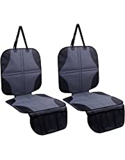 Ohuhu Baby Child Car Auto Carseat Seat Protector Cover Dog Mat Vehicle Cover With Organizer (2-Pack Car Seat Protector)