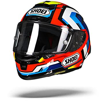 Shoei X-Spirit 3 Brink Motorcycle Helmet XS Red (TC-1)