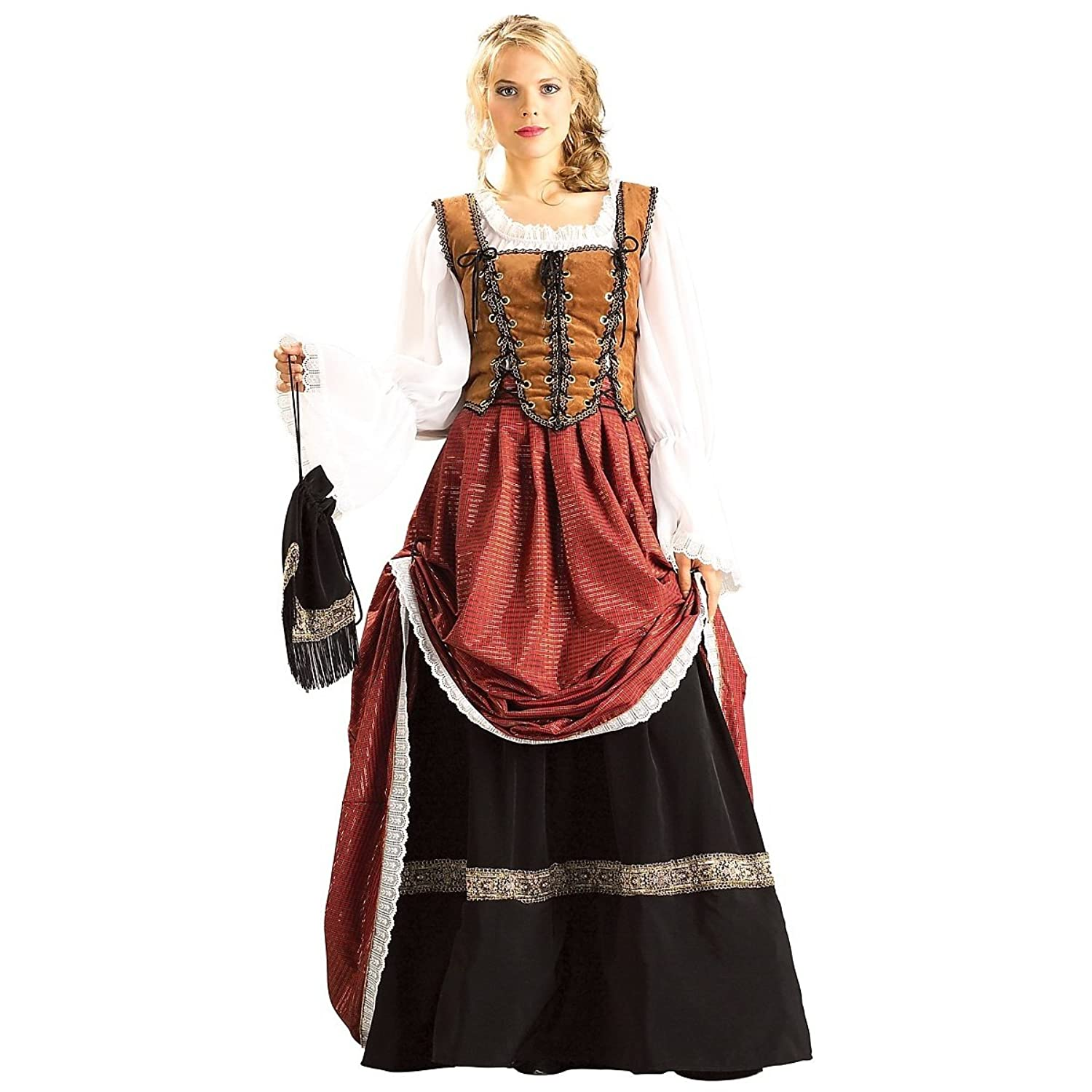 Deluxe Scottish Brigadoon Costume - Small - Dress Size